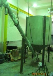 бункер сыпучих материалов